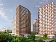 Купить квартиру со свободной планировкой по адресу Москва, ЗАО, Никулинская, дом 11, к. Г