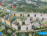 Снять квартиру со свободной планировкой по адресу Москва, п. Внуковское, п. Внуково, НАО, Омская, дом 15
