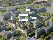 Купить однокомнатную квартиру по адресу Свердловская область, г. Екатеринбург, Стачек, дом 68