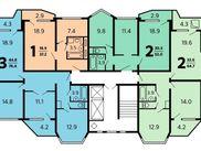 Купить трёхкомнатную квартиру по адресу Московская область, Солнечногорский р-н, д. Голубое, Родниковая, дом 5