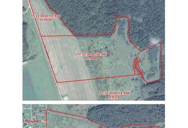 Купить землю по адресу Москва, г. Троицк, Новая Москва, Калужское