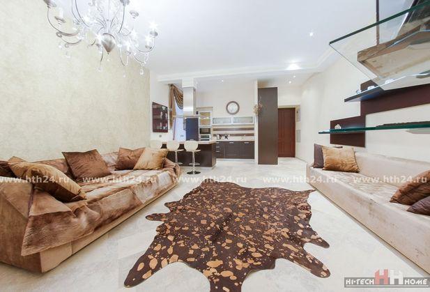 Снять трёхкомнатную квартиру по адресу Санкт-Петербург, Итальянская улица, дом 14
